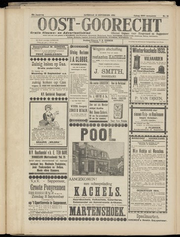 (Volksblad) Oost-Goorecht en Omstreken nl 1932-09-10