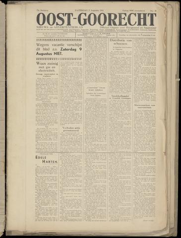 (Volksblad) Oost-Goorecht en Omstreken nl 1941-08-02