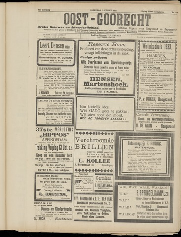 (Volksblad) Oost-Goorecht en Omstreken nl 1933-10-07
