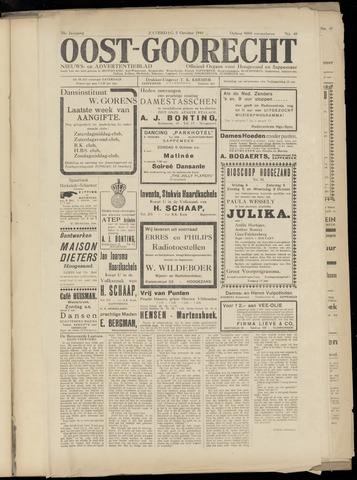(Volksblad) Oost-Goorecht en Omstreken nl 1940-10-05