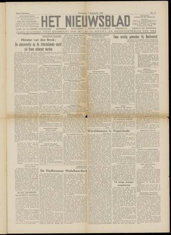 Het Nieuwsblad nl 1949-09-07
