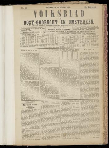 (Volksblad) Oost-Goorecht en Omstreken nl 1892-10-26