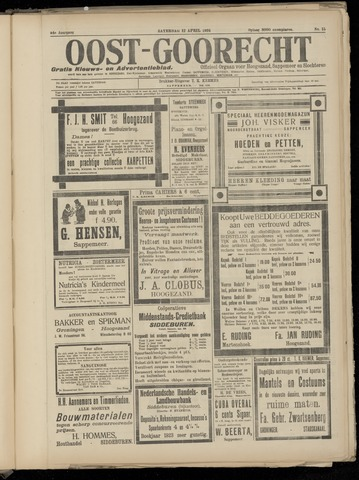 (Volksblad) Oost-Goorecht en Omstreken nl 1924-04-12
