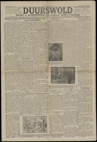 Nieuws- en Advertentieblad, Duurswold nl 1943-04-10