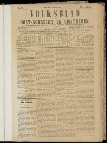 (Volksblad) Oost-Goorecht en Omstreken nl 1892-07-17