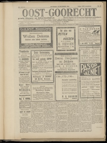 (Volksblad) Oost-Goorecht en Omstreken nl 1924-12-13