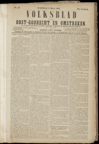(Volksblad) Oost-Goorecht en Omstreken nl 1892-03-09
