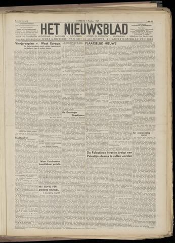 Het Nieuwsblad nl 1947-10-04