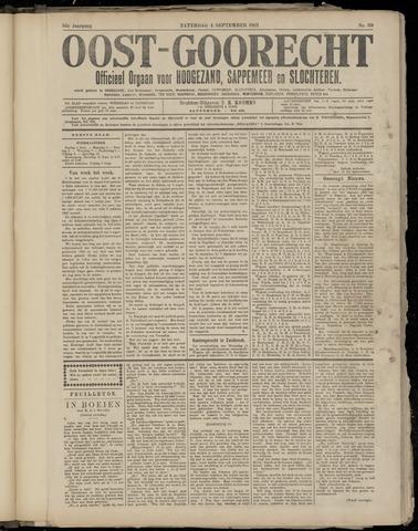 (Volksblad) Oost-Goorecht en Omstreken nl 1921-09-03