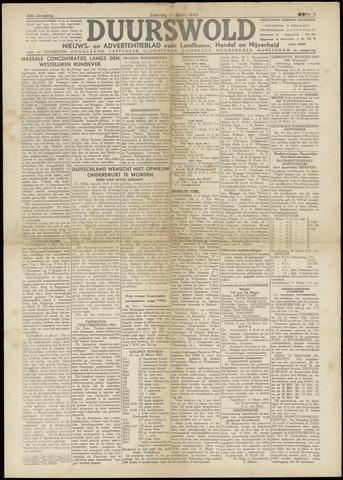 Nieuws- en Advertentieblad, Duurswold nl 1945-03-17