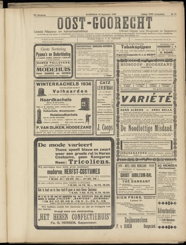 (Volksblad) Oost-Goorecht en Omstreken nl 1936-09-12