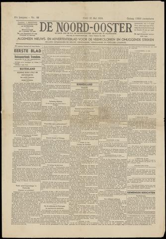 Nieuws- en Advertentieblad, De Noord-Ooster nl 1934-05-22