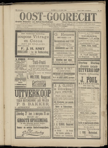 (Volksblad) Oost-Goorecht en Omstreken nl 1925-06-27