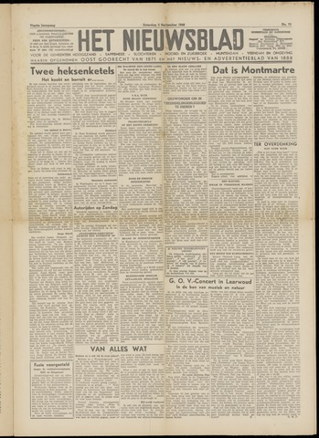 Het Nieuwsblad nl 1949-09-03