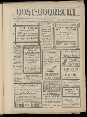 (Volksblad) Oost-Goorecht en Omstreken nl 1924-04-26