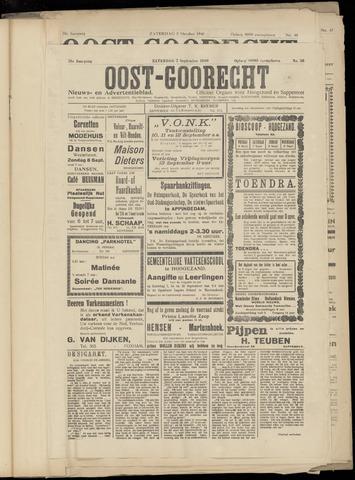 (Volksblad) Oost-Goorecht en Omstreken nl 1940-09-07