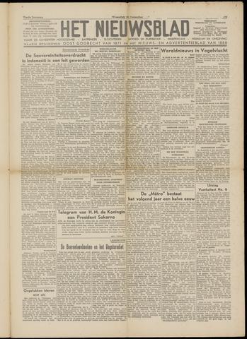 Het Nieuwsblad nl 1949-12-28