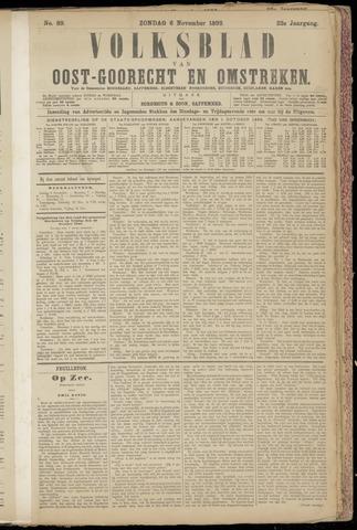 (Volksblad) Oost-Goorecht en Omstreken nl 1892-11-06