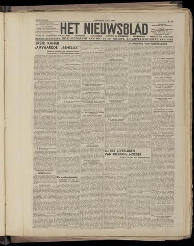 Het Nieuwsblad nl 1947-08-06