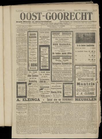 (Volksblad) Oost-Goorecht en Omstreken nl 1922-10-28