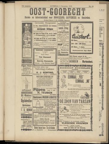 (Volksblad) Oost-Goorecht en Omstreken nl 1939-12-09