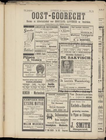(Volksblad) Oost-Goorecht en Omstreken nl 1939-08-26
