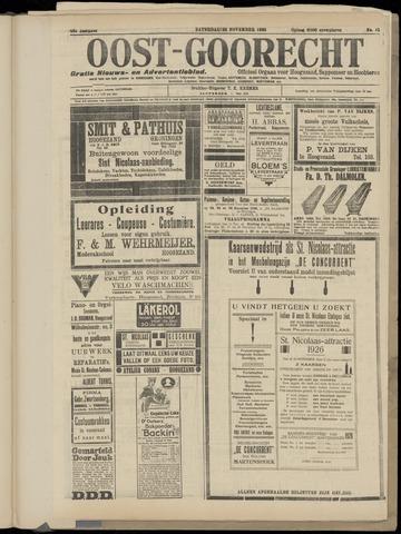 (Volksblad) Oost-Goorecht en Omstreken nl 1926-11-20