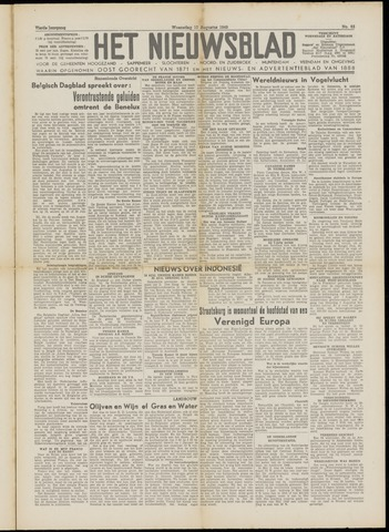 Het Nieuwsblad nl 1949-08-10