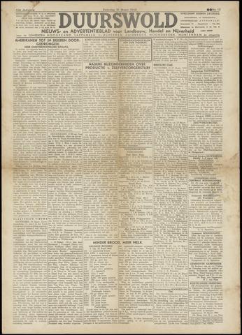 Nieuws- en Advertentieblad, Duurswold nl 1945-03-31