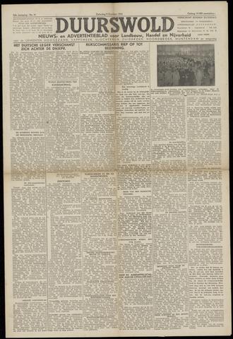 Nieuws- en Advertentieblad, Duurswold nl 1943-10-09