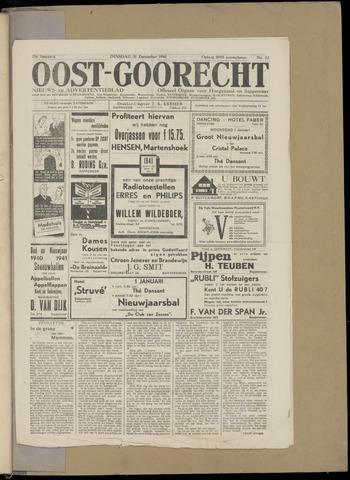 (Volksblad) Oost-Goorecht en Omstreken nl 1940-12-31