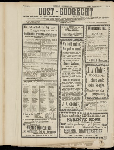 (Volksblad) Oost-Goorecht en Omstreken nl 1933-09-09