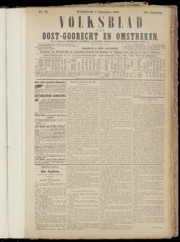 (Volksblad) Oost-Goorecht en Omstreken nl 1892-09-07