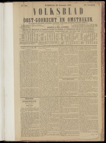 (Volksblad) Oost-Goorecht en Omstreken nl 1892-12-28