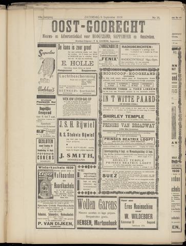 (Volksblad) Oost-Goorecht en Omstreken nl 1939-09-09