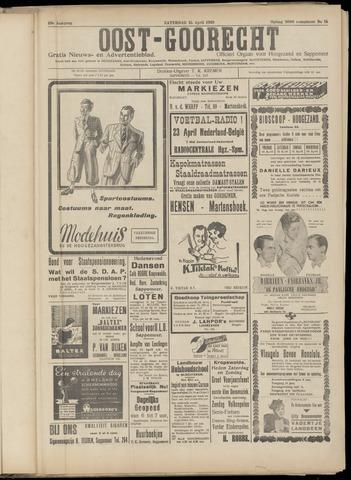 (Volksblad) Oost-Goorecht en Omstreken nl 1939-04-15