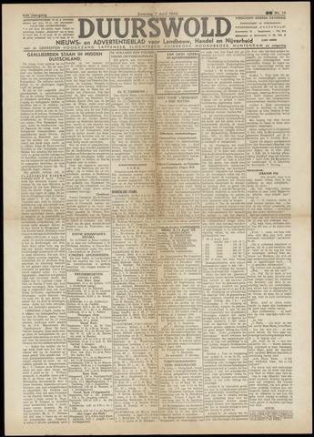 Nieuws- en Advertentieblad, Duurswold nl 1945-04-07