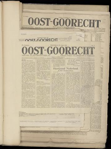(Volksblad) Oost-Goorecht en Omstreken nl 1945-04-25