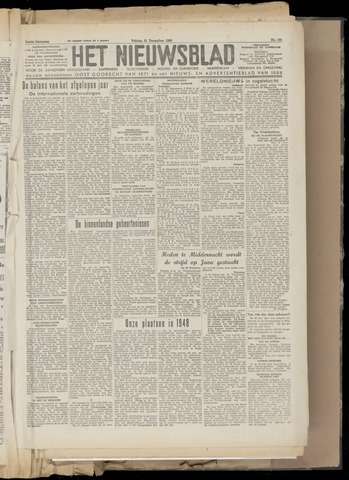 Het Nieuwsblad nl 1948-12-31
