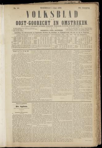 (Volksblad) Oost-Goorecht en Omstreken nl 1892-06-01