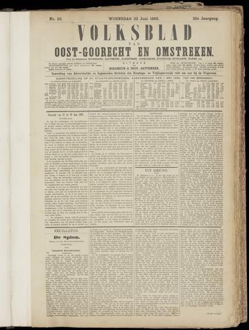 (Volksblad) Oost-Goorecht en Omstreken nl 1892-06-22