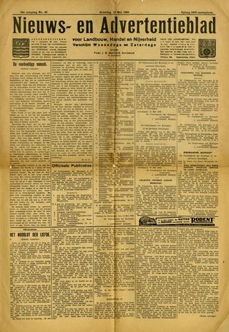 Nieuws- en Advertentieblad, Sappemeer nl 1940-05-18