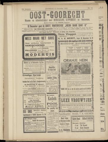 (Volksblad) Oost-Goorecht en Omstreken nl 1936-12-12