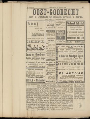 (Volksblad) Oost-Goorecht en Omstreken nl 1940-01-27