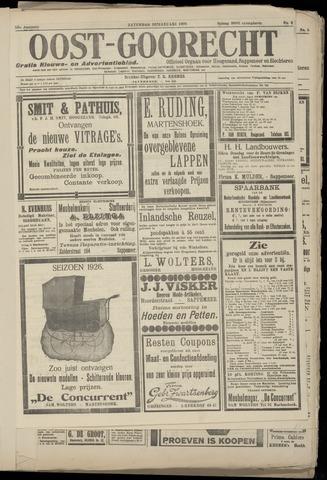 (Volksblad) Oost-Goorecht en Omstreken nl 1926-01-30