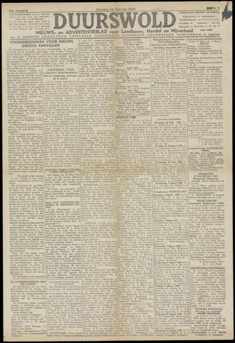 Nieuws- en Advertentieblad, Duurswold nl 1945-02-24