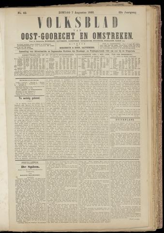 (Volksblad) Oost-Goorecht en Omstreken nl 1892-08-07