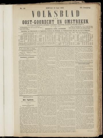 (Volksblad) Oost-Goorecht en Omstreken nl 1892-06-19