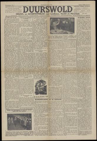 Nieuws- en Advertentieblad, Duurswold nl 1943-01-23
