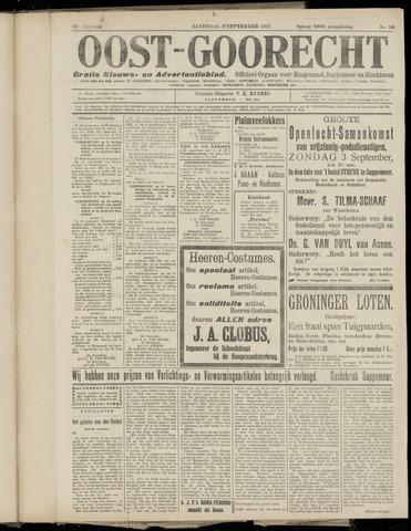 (Volksblad) Oost-Goorecht en Omstreken nl 1922-09-02
